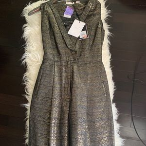 Black and gold metallic jumpsuit Never worn !